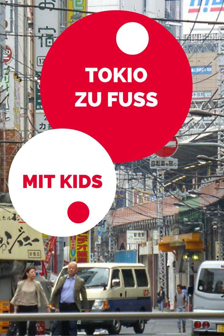 Durch Tokio laufen - und jede Menge Entdeckungen machen. #tokio #tokyo #Japan #reisenmitkindern