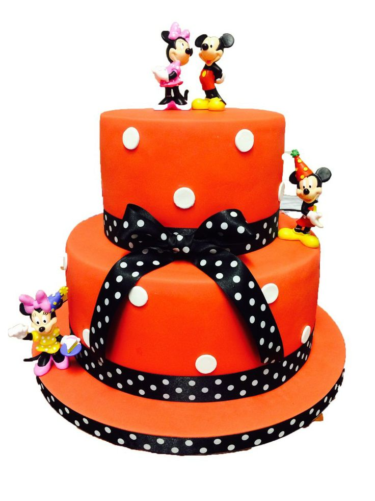 mickey-and-minnie-cake  #blueribbons