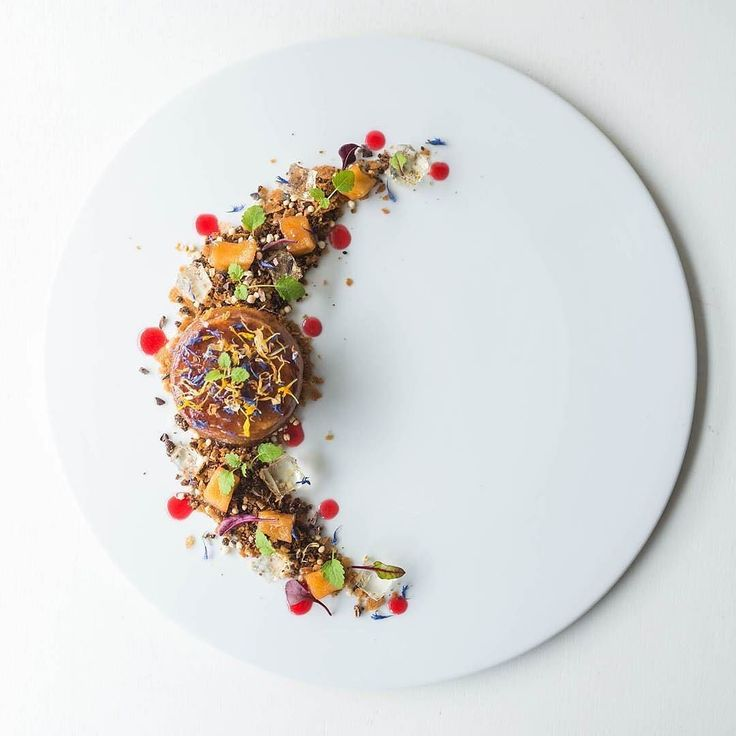 Apple Tarte Tatin Apple Jelly Stewed Spiced Apples Apple Caramel Pailette Feuilletine Chocolate Soil Puffed Quinoa by @zeboycooks Tag your best plating pictures with #armyofchefs to get featured. - find more inspiration and some of the best culinary jobs on our site!