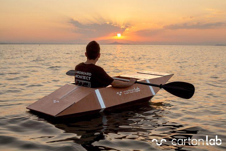 Kayak de cartón - cartonLAB