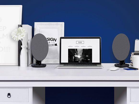 office speaker system. kef egg wireless music system aktive kompaktspeaker mit bluetooth office speaker
