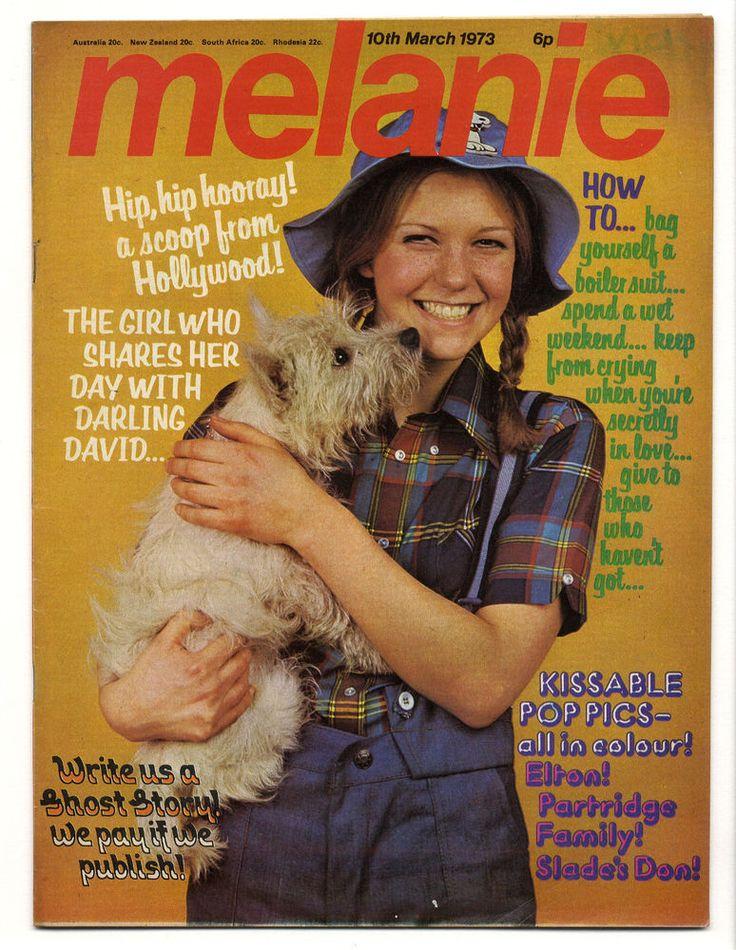 MELANIE Magazine No 5 March 10 1973 Slade Elton John Partridge Family Susan Dey