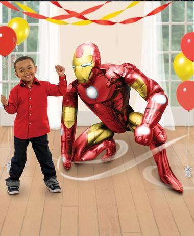 Avengers Iron Man AirWalker Foil Balloon