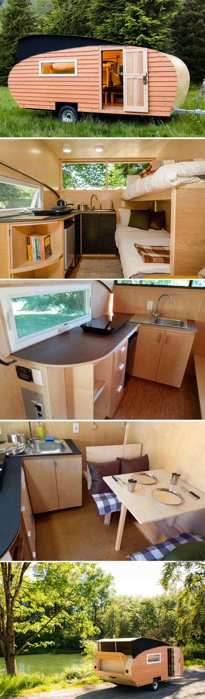 find this pin and more on camper trailers small pop top teardrop - Small Camper Trailer