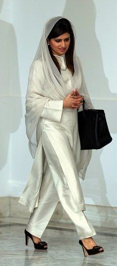 Hina Rabbani Khar is a Pakistani stateswoman and economist who was the 26th Foreign Minister of Pakistan.