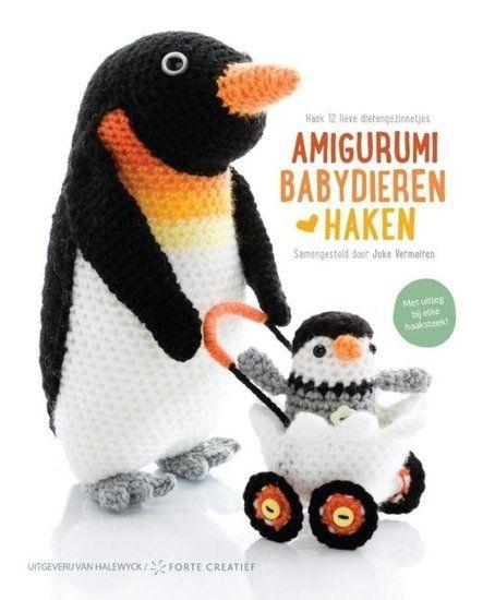 Amigurumi babydieren haken - Joke Vermeiren - www.wolwolf.be
