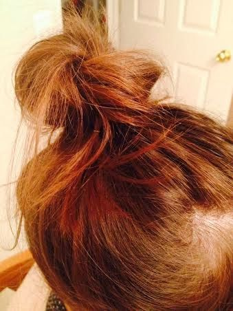 If you have thin hair, like myself,  and never know what to do with it or how to make it cute, this is the tutorial for you! --messy buns with thin hair | Over Mountains