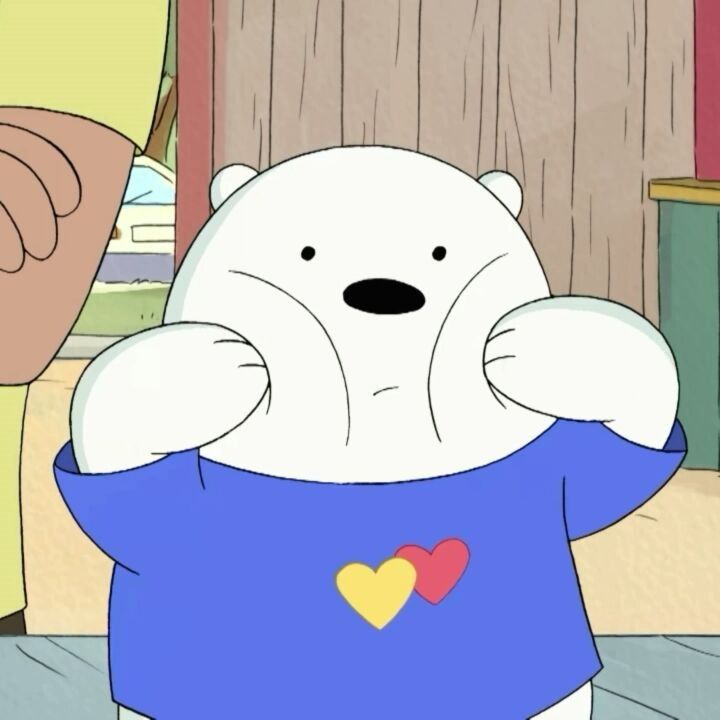 #WeBareBears #whomakes thecutestface?#Offcourse#cute#baby#IceBear#Polar