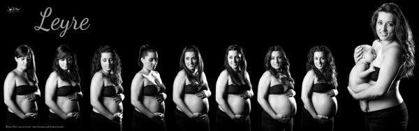 Ideas para realizar un seguimiento fotográfico de tu embarazo