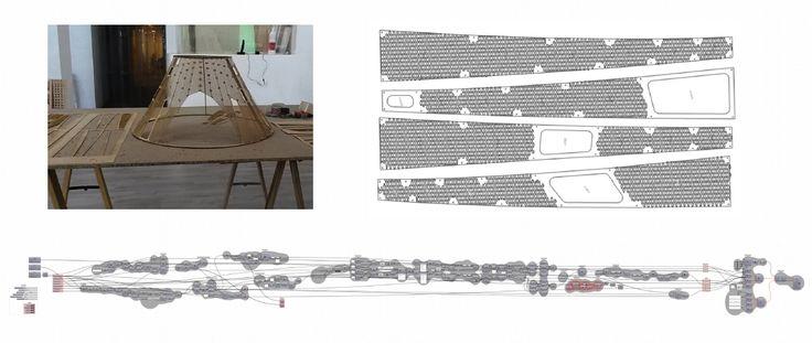 Image: Tassilo Goldmann (Germany) VI Edition students #parametricdesign #rhino3d #master #course #rhinoceros #grasshopper3d #revit #3Ddesign #3Dmodeling #architecture #nurbs #madrid #advanced