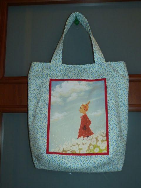 Moja Bawionka: Mała Mi dorasta - kolejna torba z obrazkiem w ramc...
