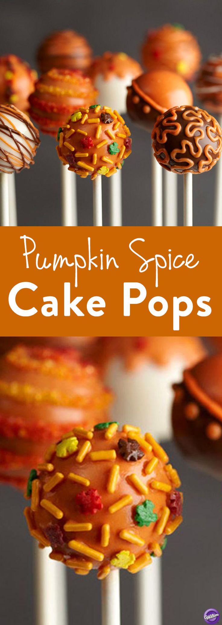 Pumpkin Spice Cake Pops 4131 best Cake