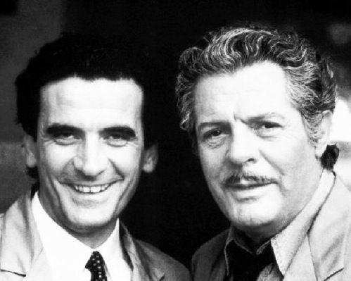 Massimo Troisi & Marcello Mastroianni