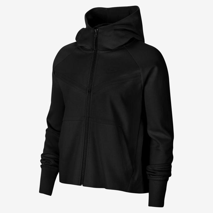 Nike sportswear tech fleece windrunner womens fullzip