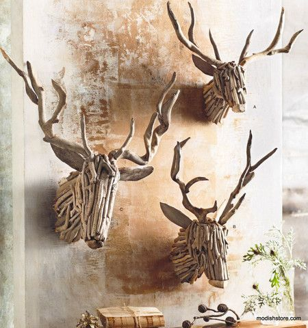 projects ideas dear head. Roost Driftwood Deer Head  ProjectsDriftwood IdeasDriftwood 50 best Art images on Pinterest Cartonnage and