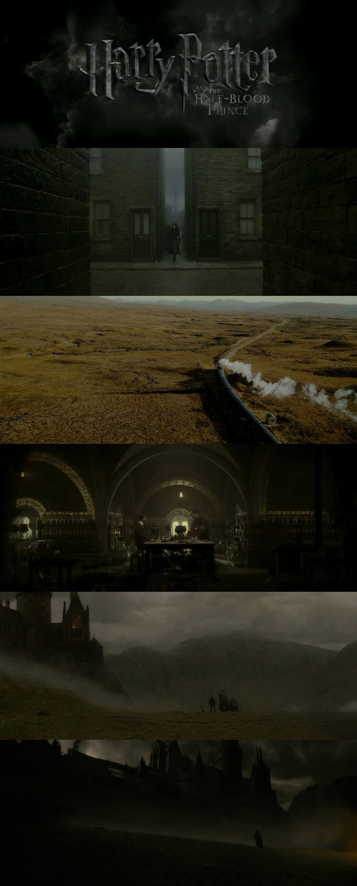 Harry Potter and the Half Blood Prince (2009) - Dir.David Yates  DOP.Bruno Delbonnel