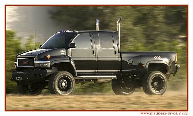 2007 GMC Topkick C4500 (Ironhide) from 2007's Transformers.