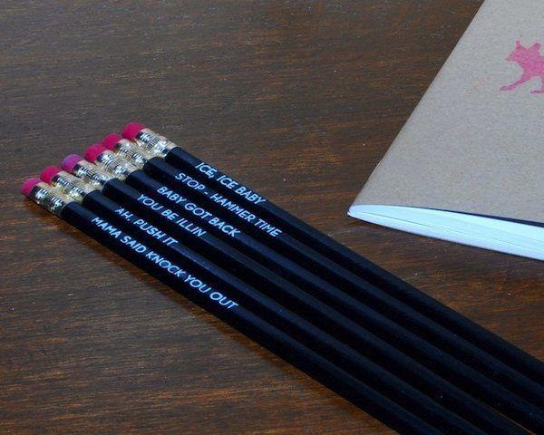 Classic Rap Pencil Set http://thegadgetflow.com/portfolio/classic-rap-pencil-set-15/