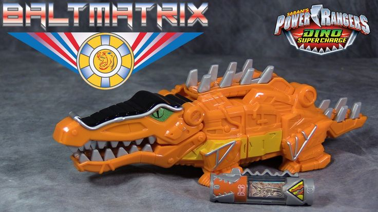 Power Ranger Dino SuperCharge Deinosuchus Megazord