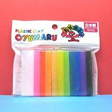 Free Shipping! - Oyumaru Modelling Compound Moulding stick [color] 12pcs set - 9,32 €