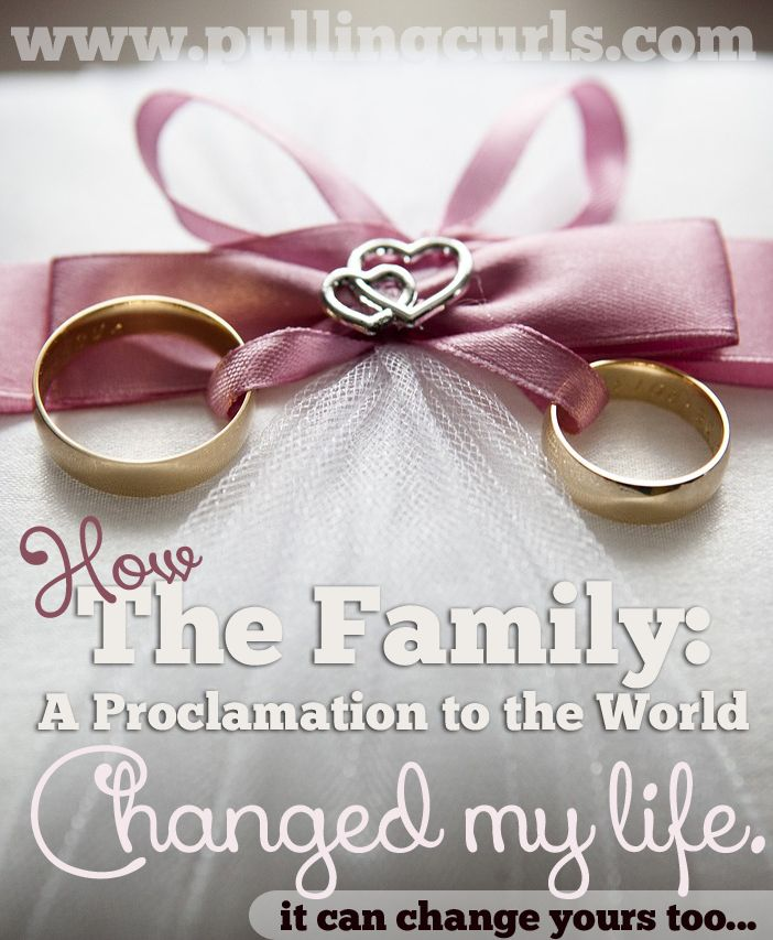 17 Best Ideas About Proclamation On The Family Pinterest Proclamation