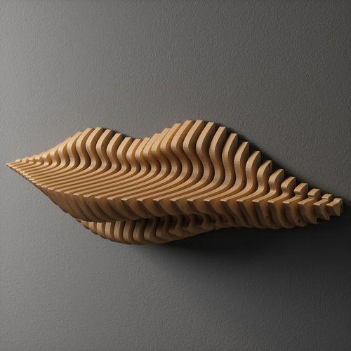 wall shelf parametric 3d model max obj mtl dxf dwg 5 | Ideas