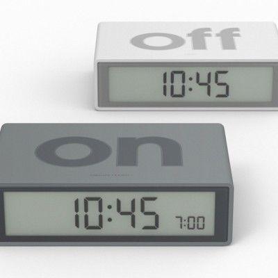 FLIP alarm clock par DesignWright pour Lexon - Journal du Design