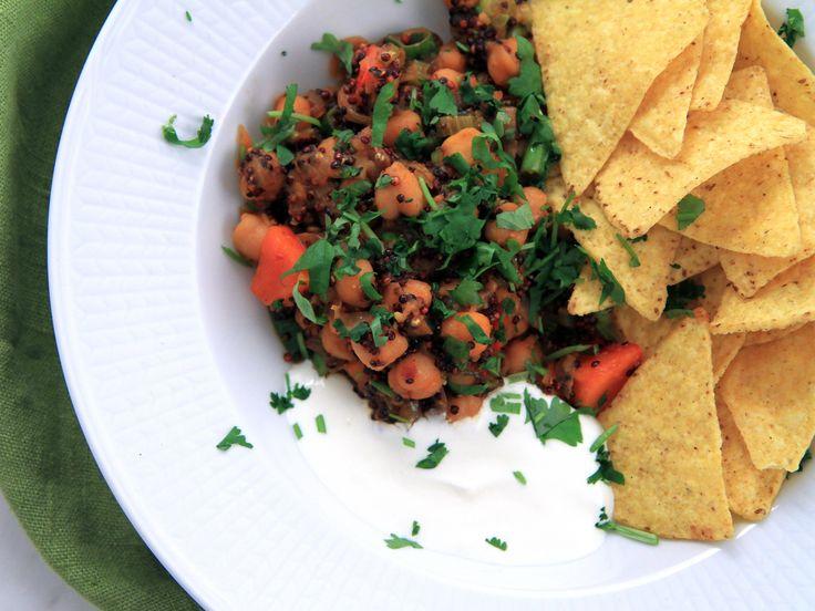 Vegetarisk chiligryta med chipotle | Recept från Köket.se
