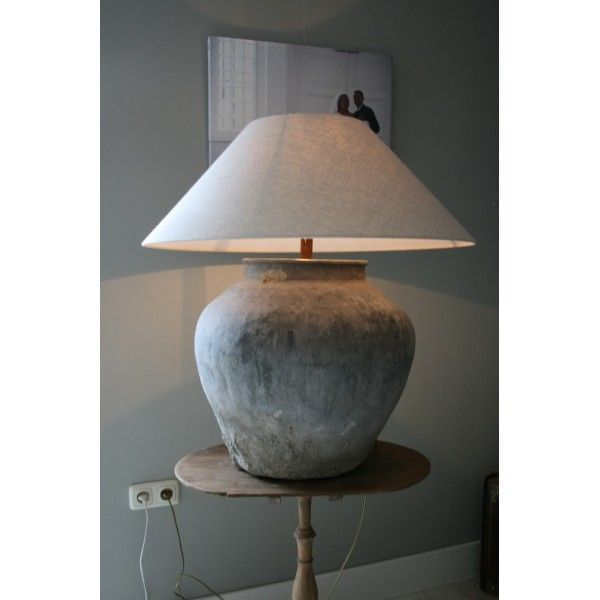 A grey lamp is nice too :-)