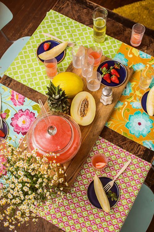 Unsere Tischläufer sind schnell und einfach genäht – ein perfektes Anfängerprojekt mit tollem Effekt.