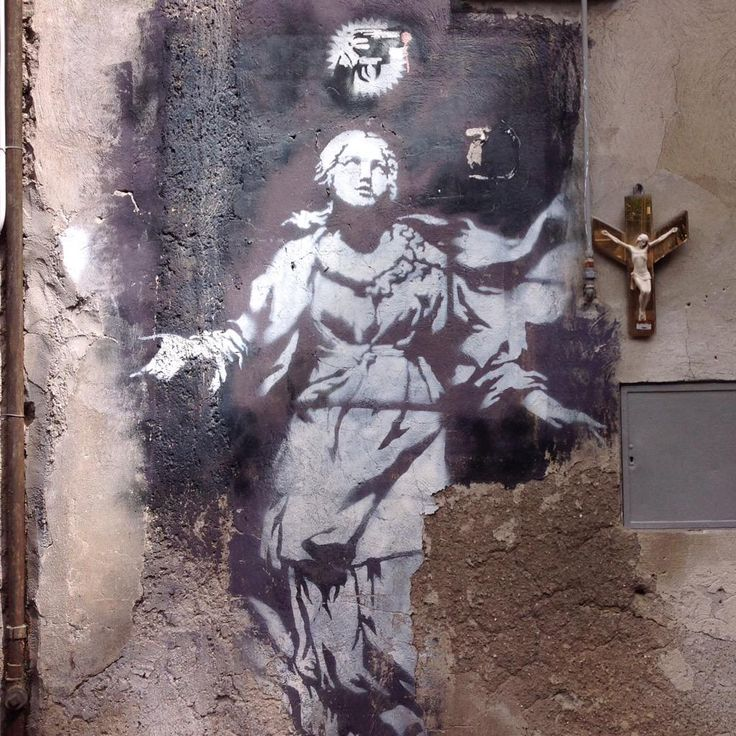 #Banksy à #Naples #Napoli #streetart