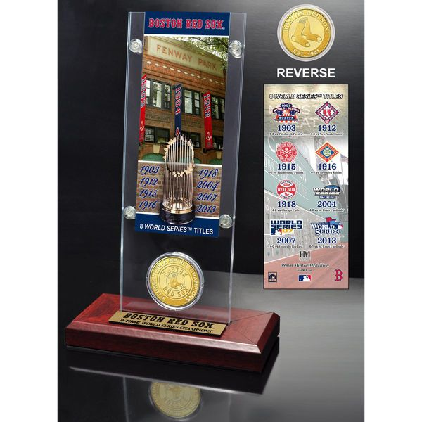Boston Red Sox Highland Mint World Series Ticket Acrylic - $39.99