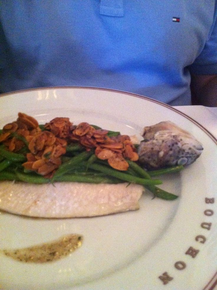 Idaho trout at Bouchon's Yountville