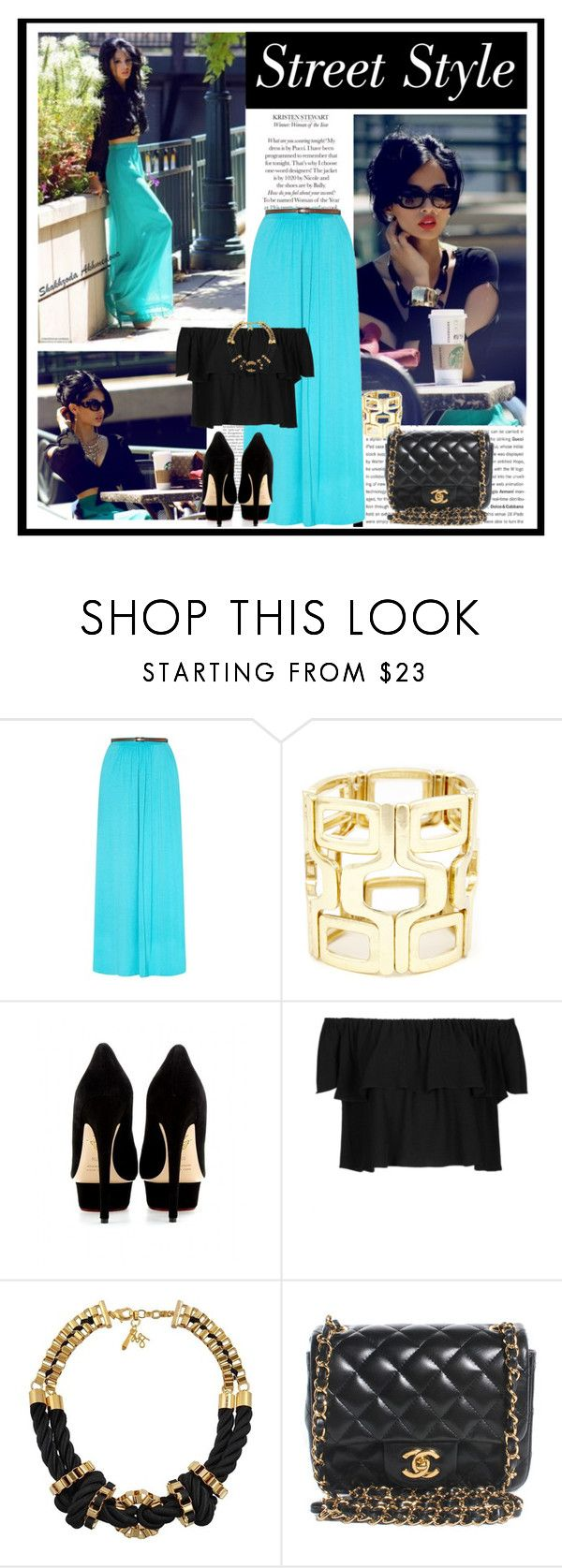 """""""Uptown Girl!!"""" by littlefeather1 ❤ liked on Polyvore featuring Christian Dior, Sole Society, Charlotte Olympia, Topshop, John & Pearl and Chanel"""