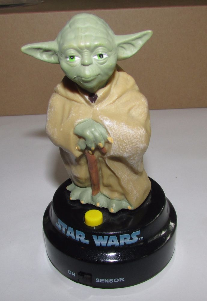Star Wars Talking Yoda  2006 Lucasfilm Ltd. Excellent condition