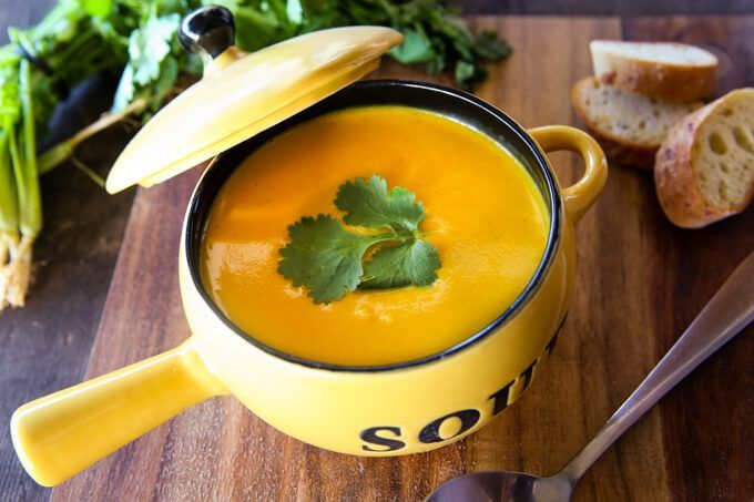 skinnymixer's Coconut Curried Pumpkin Soup