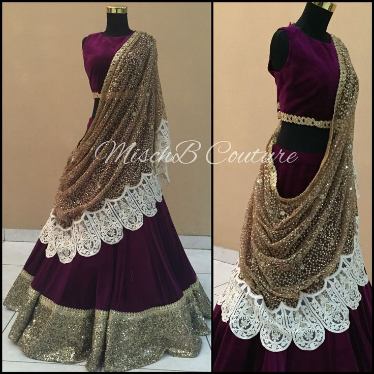 Ametyst Amour, lehenga by MischB Couture