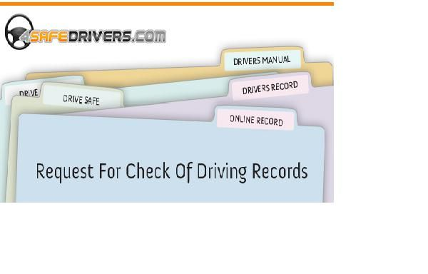 Put in your request online for DMV Motor Vehicle Record through 4SafeDrivers.  A safe and clean driving record is required if you are applying for a driver's job.
