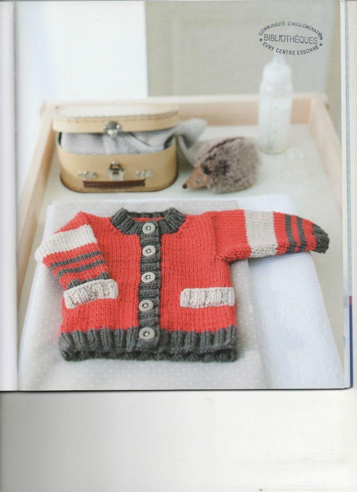 calin tricot vierte bebe --- ropa de bebé que hacen punto stick mon - Blog de albahaca - Albahaca
