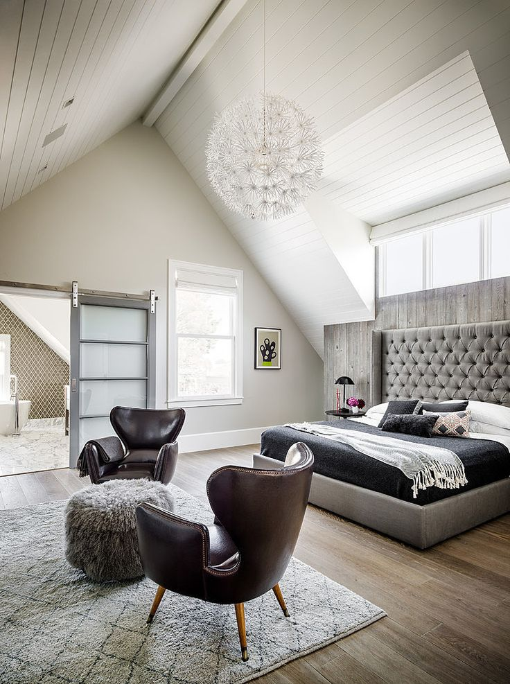 Victorian Home Remodel - plank ceiling | Noe Valley Residence by Feldman Architecture