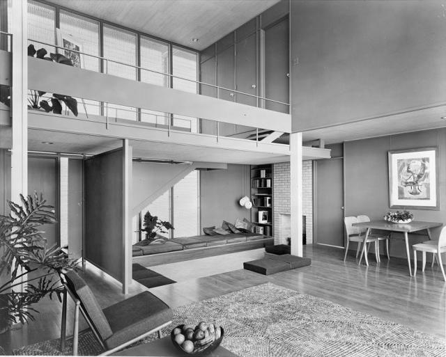 Paul Rudolph /// Philip Hiss Residence (The Umbrella House) /// Lido Shore, Sarasota, Florida, USA
