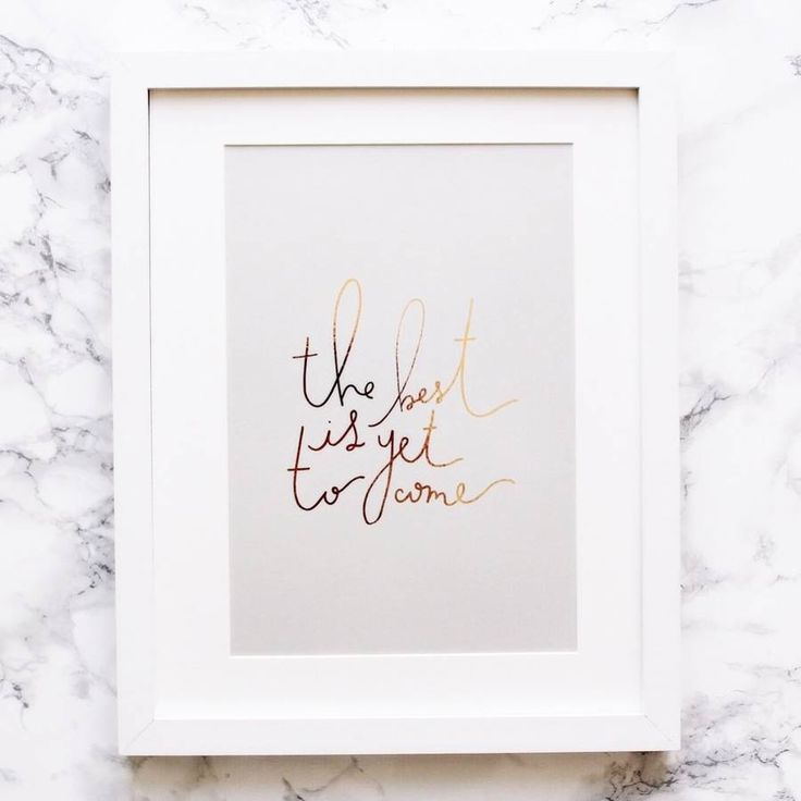 The Best Is Yet To Come Art Print | http://www.notonthehighstreet.com/sonniandblushpaperco/product/the-best-is-yet-to-come-art-print