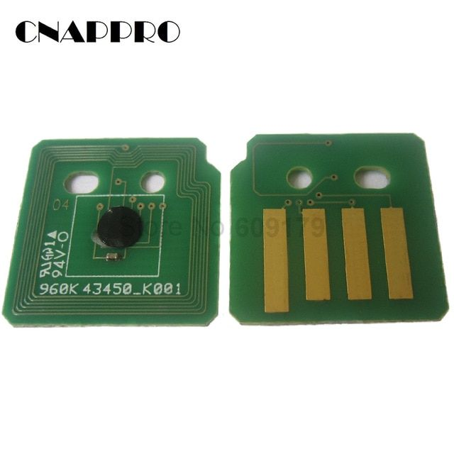 40pcs Original Reset 7525 Toner Chip For Xerox Workcentre 7530