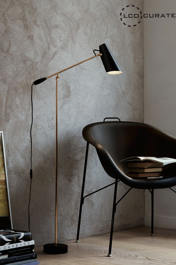 Birdy (available in table, wall and floor lights) by Northern Lighting is distributed exclusively by LightCo Pty