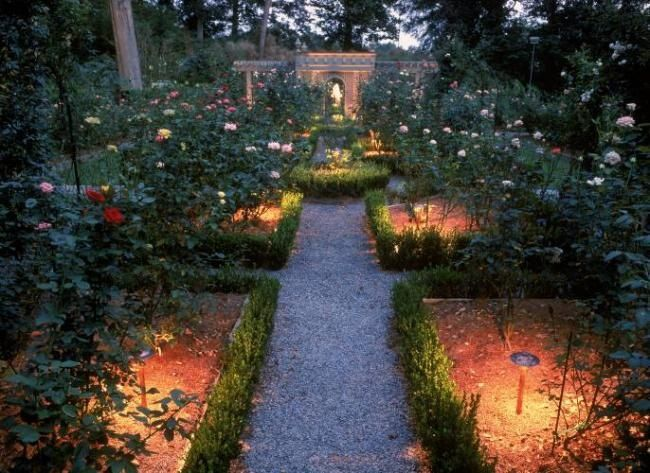 What could be more romantic than illuminating your garden to enjoy evening after evening?