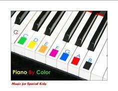 Piano by Color: I am a Music Therapist and piano teacher. I have worked with 23…