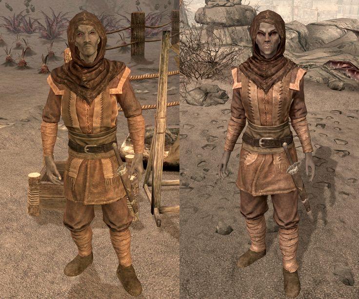 Elder Scrolls V: Skyrim Dunmer outfit.