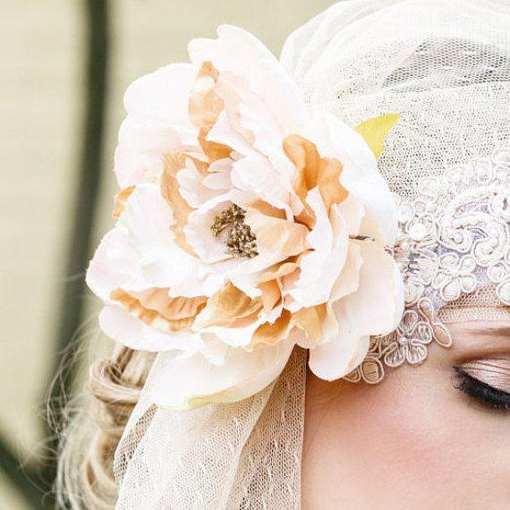Juliette Cap Juliette Veil mariée Cap Bridal par Sparrowstation