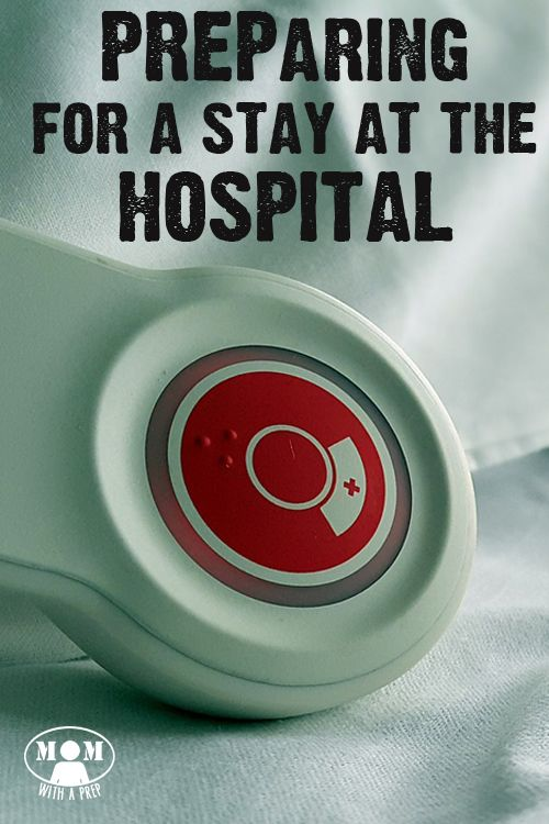 Seid ihr für einen Aufenthalt im Krankenhaus gerüstet? Guter Artikel in Englisch