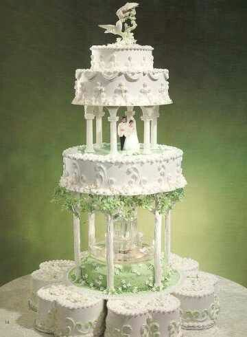 wedding cake water fountain cake what cha want to bet there s some lime 26791
